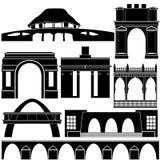 Arquitetura do mundo Fotografia de Stock Royalty Free