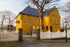 Arquitetura do museu de Alesund Fotos de Stock Royalty Free