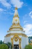 Arquitetura do pagode no nordeste de Tailândia Fotos de Stock Royalty Free
