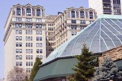Arquitetura do parque de Lincoln Foto de Stock Royalty Free