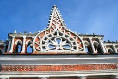 Arquitetura do parque de Tsaritsyno em Moscou Foto a cores Foto de Stock