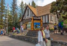 Arquitetura do parque nacional de Banff Fotografia de Stock