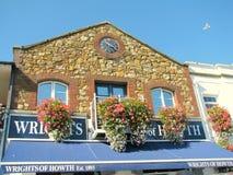 Arquitetura do porto de Howth Imagens de Stock Royalty Free