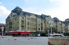 Arquitetura do quadrado da revolução de Timisoara Fotografia de Stock Royalty Free