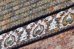 Arquitetura do solar de Izmailovo em Moscou Catedral do Intercession Imagem de Stock