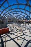 Arquitetura do túnel da ponte Fotografia de Stock Royalty Free