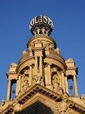 Arquitetura do teatro, Londres Fotografia de Stock Royalty Free