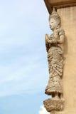Arquitetura do templo de Tailândia Imagens de Stock Royalty Free