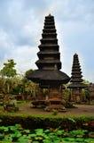 Arquitetura do templo de Taman Ayun em bali Imagem de Stock