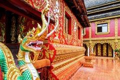Arquitetura do templo de Xishuangbanna Foto de Stock Royalty Free