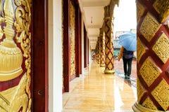 Arquitetura do templo de Xishuangbanna Fotografia de Stock Royalty Free