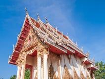 Arquitetura do templo em Tailândia Imagens de Stock Royalty Free