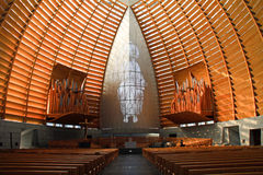 Arquitetura dramática da catedral Fotos de Stock