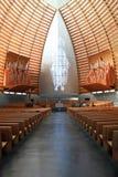Arquitetura dramática da catedral Fotos de Stock Royalty Free