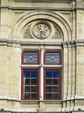 A arquitetura e as janelas do renascimento antigo denominam clássico Imagem de Stock Royalty Free