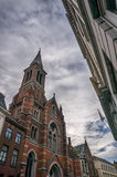 Arquitetura e catedral de Bruges Fotos de Stock