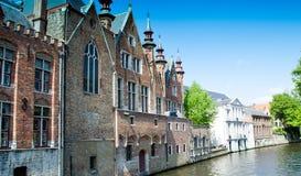 Arquitetura e cores de Bruges Imagens de Stock Royalty Free