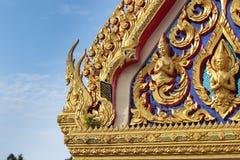 Arquitetura e cumprimento tailandeses bonitos imagem de stock royalty free