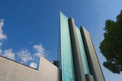 Arquitetura e linhas nos espaços urbanos - Genoa - Itália Imagens de Stock Royalty Free