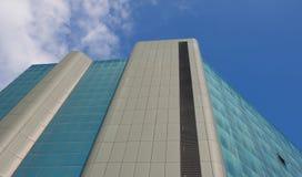 Arquitetura e linhas nos espaços urbanos - Genoa - Itália Foto de Stock Royalty Free