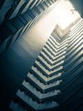 Arquitetura e teste padrão Estilo de vida e lazer da cidade Fotos de Stock