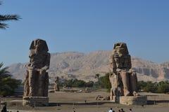 Arquitetura egípcia antiga Atrações do mundo Fotografia de Stock
