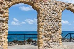 Arquitetura em Cefalu Sicília Imagem de Stock Royalty Free