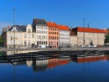 Arquitetura em Copenhaga, Dinamarca Foto de Stock Royalty Free
