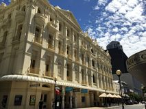 Arquitetura em Perth fotografia de stock