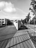 Arquitetura em preto e branco Foto de Stock Royalty Free