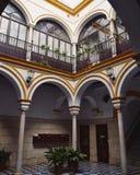 Arquitetura em Sevilha imagens de stock