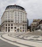 A arquitetura em skopje, Macedônia Imagens de Stock Royalty Free