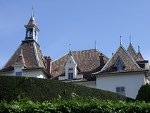 Arquitetura em Switzerland Fotos de Stock Royalty Free