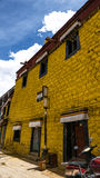 Arquitetura em Tibet Foto de Stock