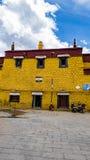 Arquitetura em Tibet Fotografia de Stock