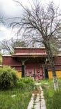 Arquitetura em Tibet Fotografia de Stock Royalty Free