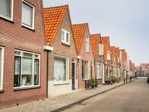 Arquitetura em Volendam Fotos de Stock