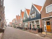 Arquitetura em Volendam Imagens de Stock Royalty Free