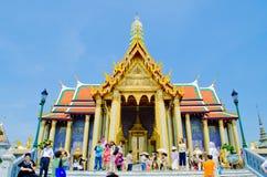 Arquitetura em Wat Phra Kaew, Banguecoque, TH. Fotografia de Stock
