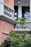 Arquitetura envelhecida em detalhe Foto de Stock Royalty Free