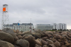 Arquitetura escandinava Fotos de Stock