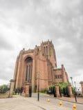 Arquitetura exterior da catedral de Liverpool Fotografia de Stock Royalty Free