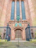 Arquitetura exterior da catedral de Liverpool Imagens de Stock Royalty Free