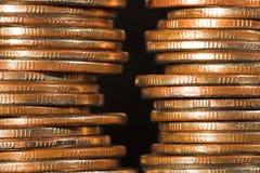 Arquitetura financeira. Imagem de Stock