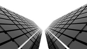 Arquitetura futurista Fotografia de Stock