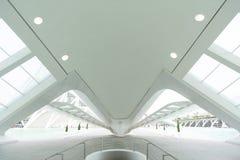 Arquitetura futurista de Valência fotos de stock