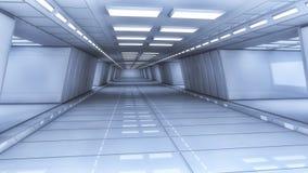Arquitetura futurista do salão Imagens de Stock