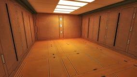 Arquitetura futurista do salão Fotos de Stock