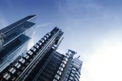 Arquitetura futurista moderna Fotografia de Stock Royalty Free