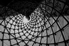Arquitetura geométrica fotografia de stock